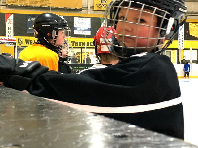 © Kids got the chance to try hockey for free Saturday, Nov. 4, 2017.