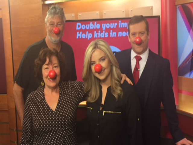 Debbie Renner from Feeding South Dakota discusses local benefits from Red Nose Day. Thursday May 24,