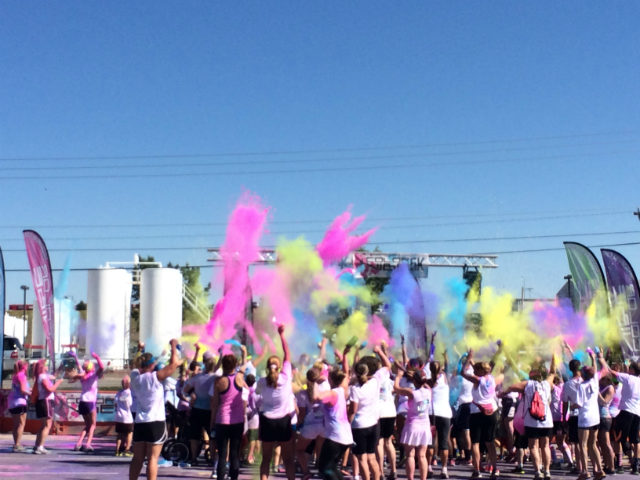 color vibe 5k spices up exercise in rapid city